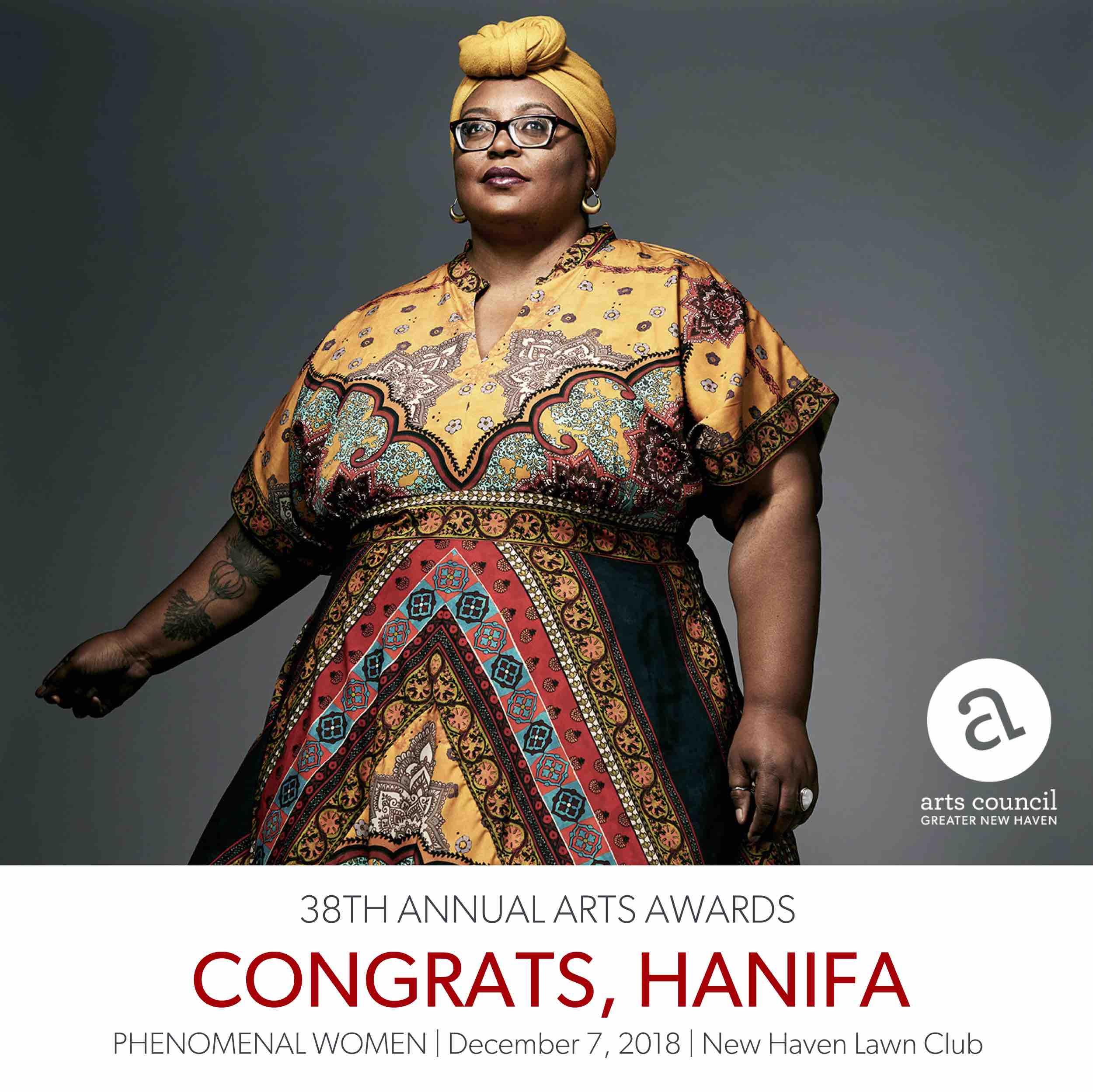 Arts Awards 2018 - Congrats Hanifa