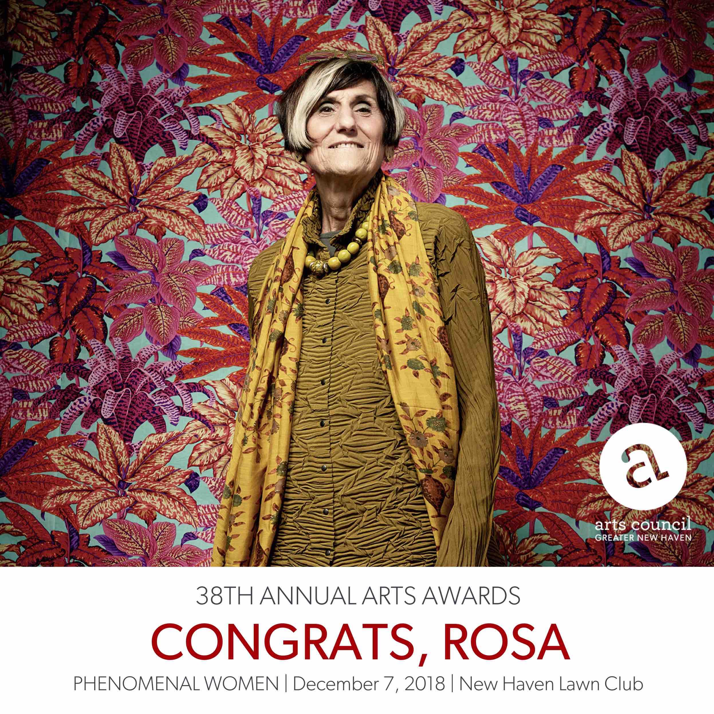 Arts Awards 2018 - Congrats Rosa-1