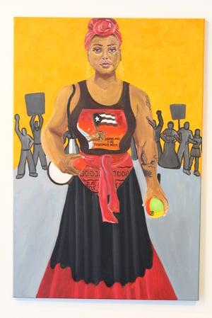 Addys Castillo portrait by Kwadwo Adae