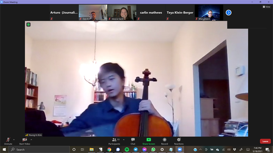 Chamber Orchestra Gets Students In The Mix