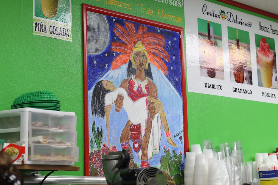 New Mural Brightens Up Grand Avenue Eatery