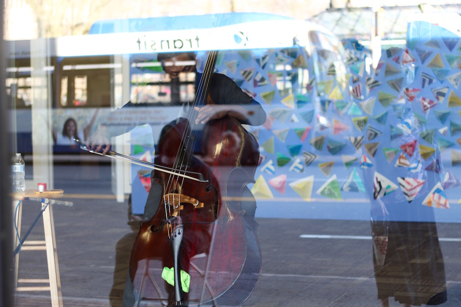 Symphony Turns Storefronts Into Stages