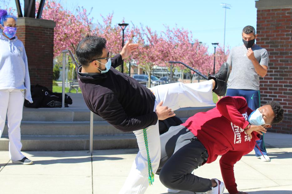 Capoeira Dances Back To Life Outdoors