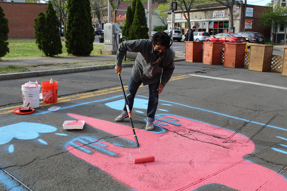 Central Ave Mural Brings Artwalk To The Streets