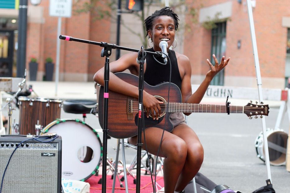On Orange Street, Black Art Becomes Resistance