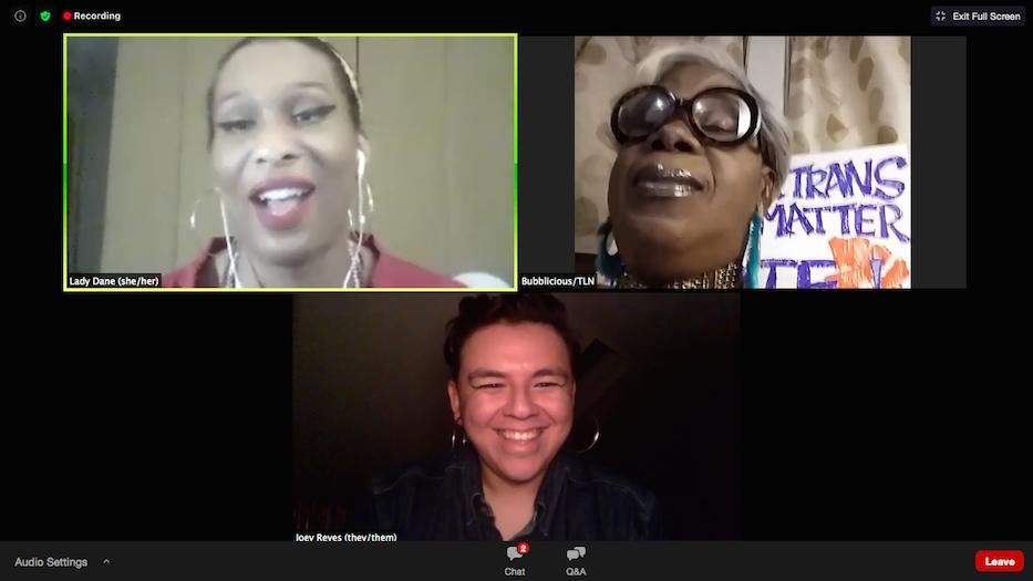 Black Trans Women Take Center Stage, Online