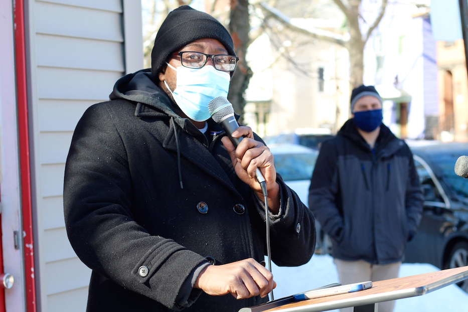 Lawrence Street Vigil Calls For A United City