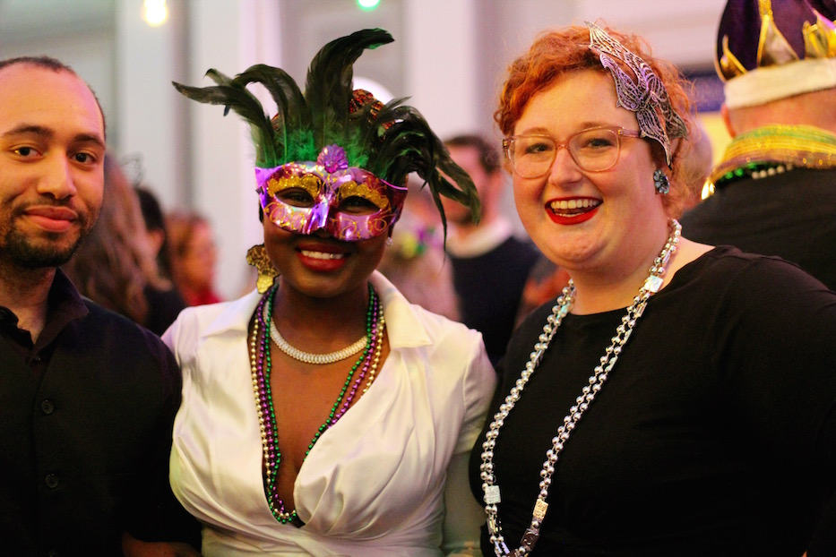 At Mardi Gras, NHFPL Centers Story