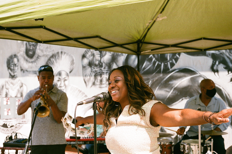 In Photos: Dixwell Parties In The Plaza