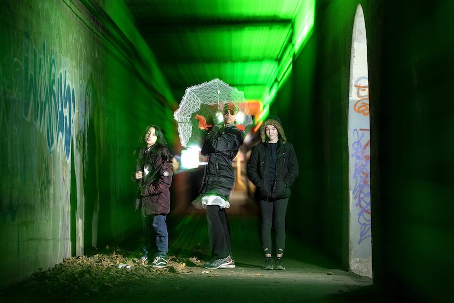 New Underpass Art Brightens Mill River District