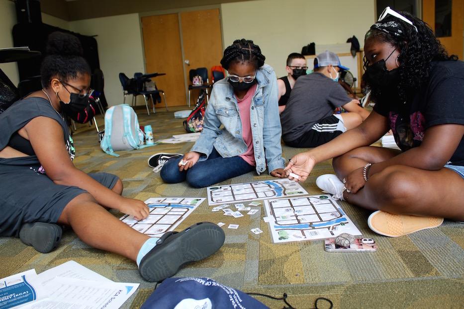 At Davis Street School, Dance Meets Urban Planning