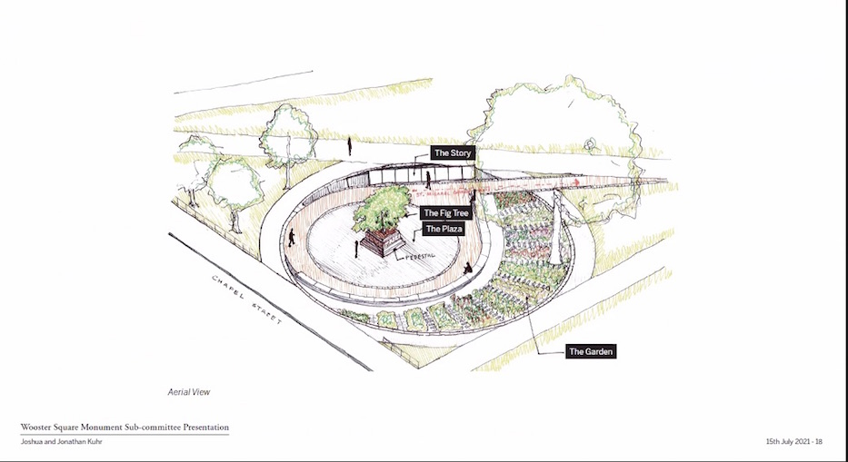 Six Visions Pitched For Wooster Square Memorial
