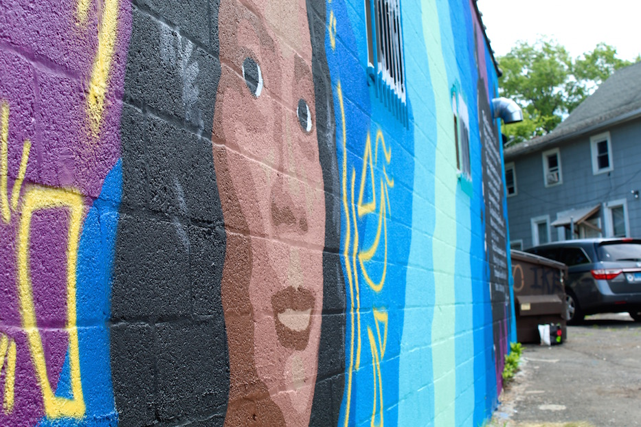 On Washington Avenue, Hill Murals Spring To Life