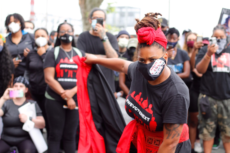 5,000 March, Dance, Rally And Sing for Black Lives