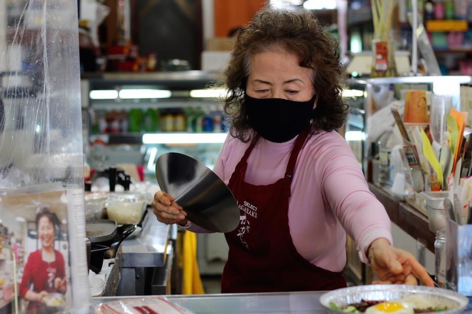 After Break In, Mrs. Kim Keeps Cooking