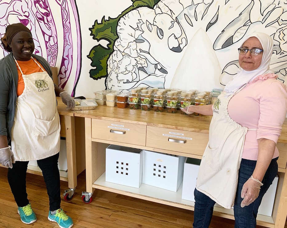 Sanctuary Kitchen Keeps Cooking For Curbside