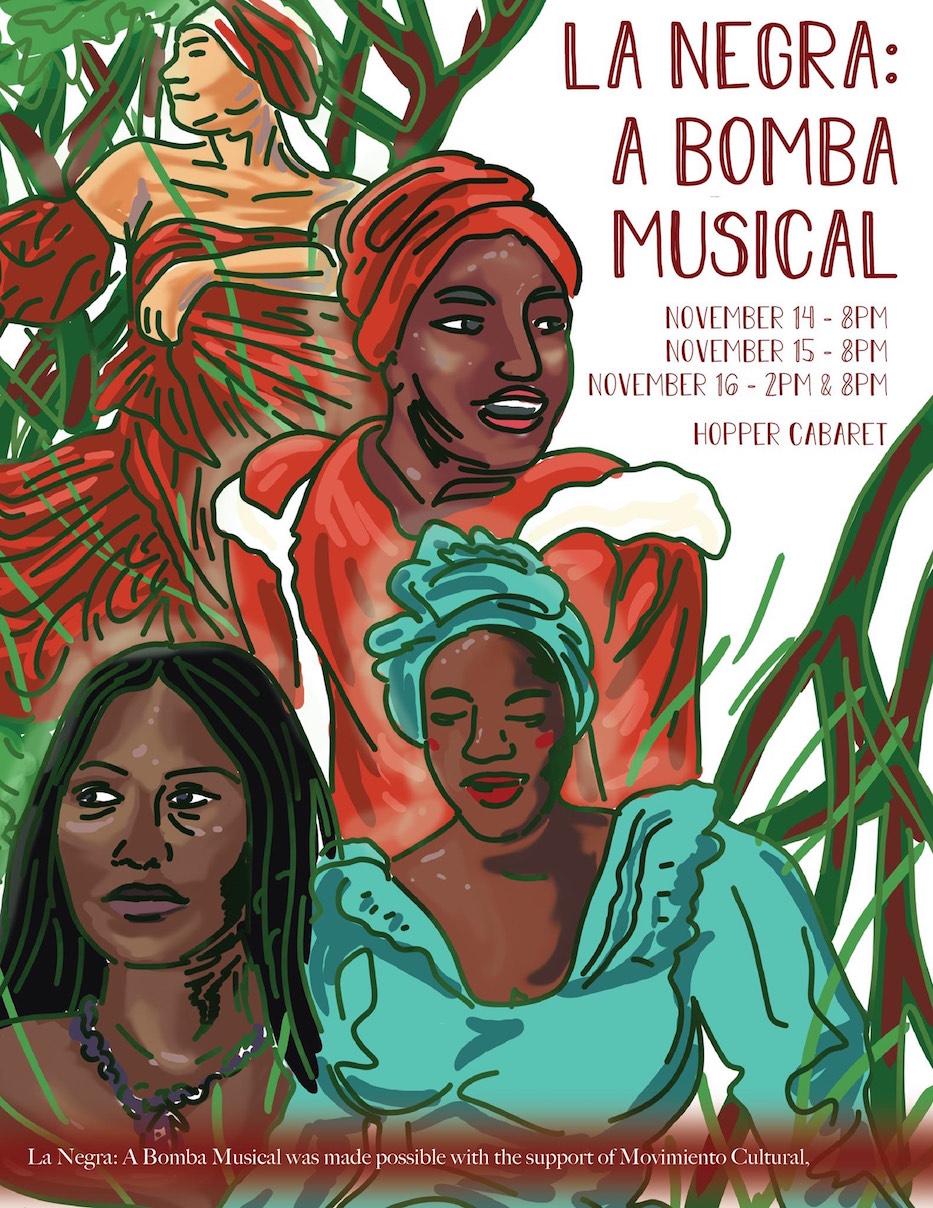 'La Negra' Brings A Bomba Heartbeat To Hopper