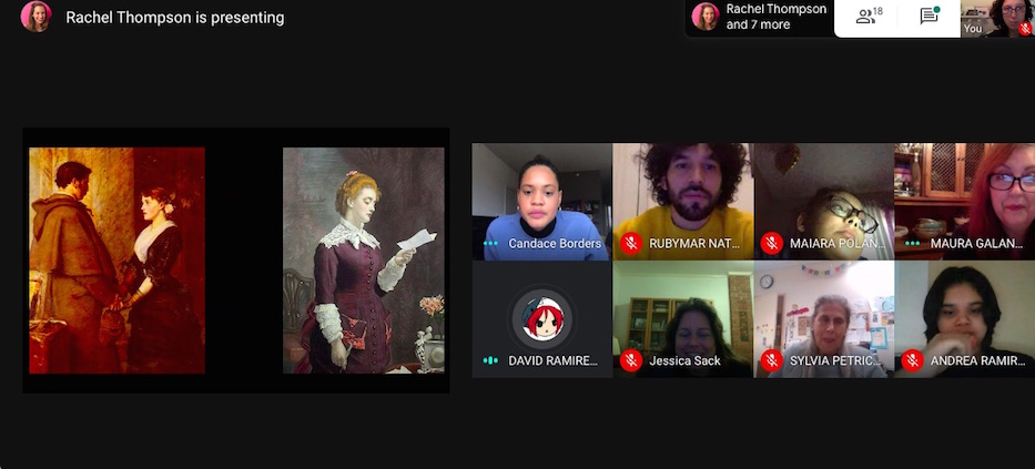 Betsy Ross Students Hit The Virtual Museum