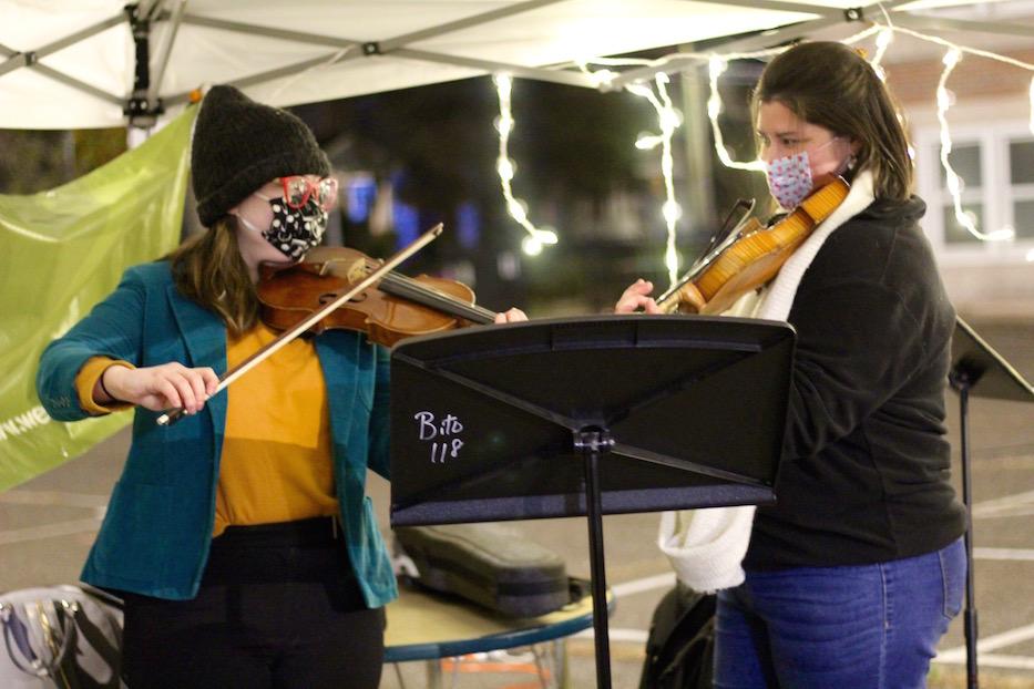 Strings Serenade Edgewood Voters