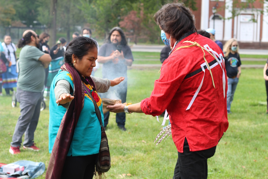Indigenous Peoples' Day Shifts To Story