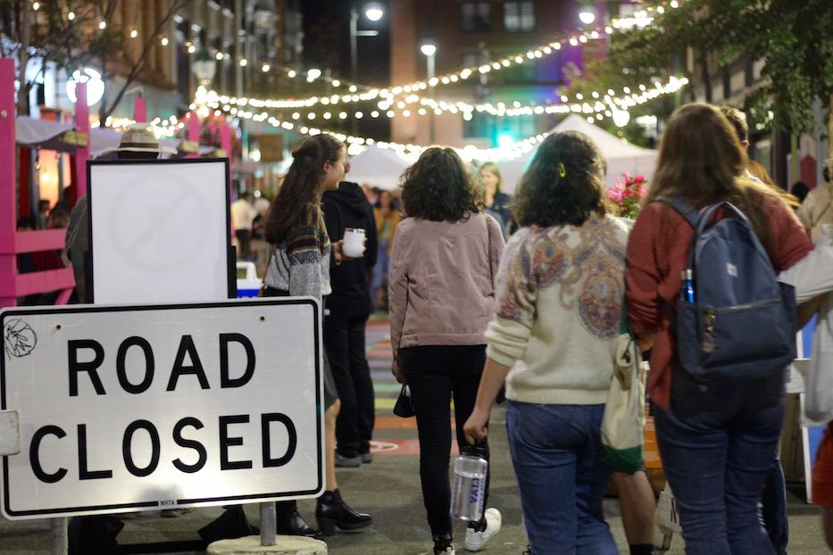 Artists Rock Return To Ninth Square Night Market