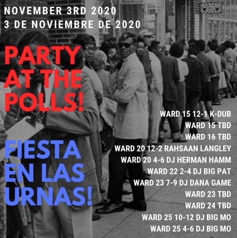 DJs, Prof Plan Parties For The Polls