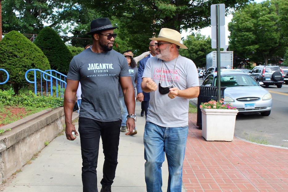 Jaigantic Team Walks Grand Avenue, Courts Fair Haven