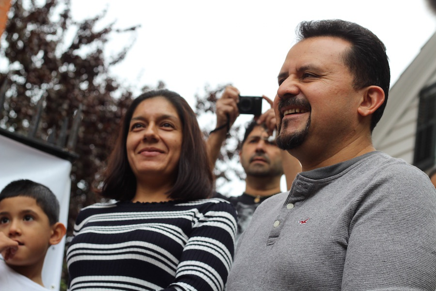 1,331 Days Later, Nelson Pinos Celebrates His Stay Of Deportation