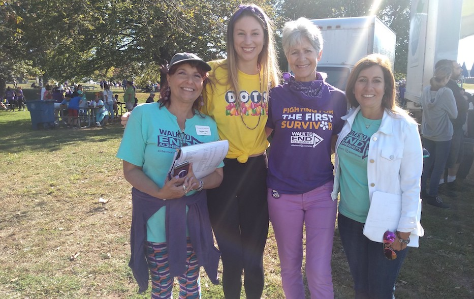 Nearly 2,000 Walk To End Alzheimer's