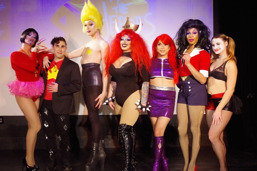 Queer Heroes Swoop In On Lyric Hall